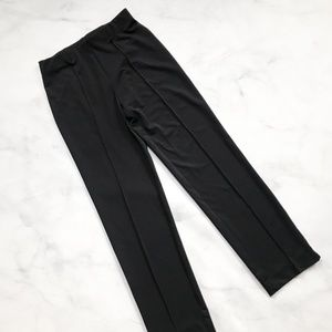 Clara Sun Woo Pull-on Straight Leg Seamed Pants